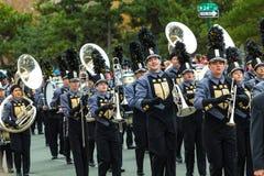 Banda de Penn High School Marching Kingsmen Imagen de archivo libre de regalías