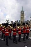 Banda de RCMP fotos de archivo