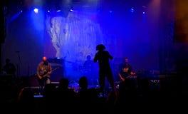 Banda de rock Fotografía de archivo libre de regalías