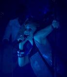 Banda de rock finlandesa PMMP del estallido Imagen de archivo libre de regalías