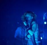 Banda de rock finlandesa PMMP del estallido Foto de archivo libre de regalías