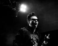 Banda de rock gótica - los 69 ojos Foto de archivo libre de regalías