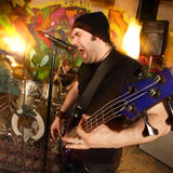 Banda de rock pesada 2 Imagen de archivo