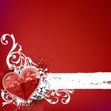 Banda del cuore Immagine Stock