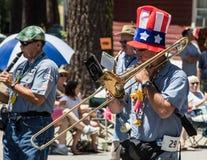 Banda del kazoo & di Ophir Prison Marching Fotografia Stock