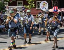 Banda del kazoo & di Ophir Prison Marching Fotografie Stock