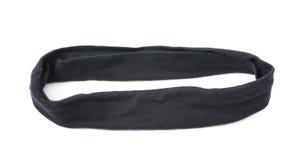 Banda del pelo negro aislada Fotografía de archivo
