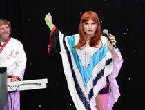 Banda del tributo de ABBA Imagen de archivo