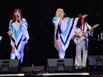 Banda del tributo de ABBA Fotografía de archivo libre de regalías