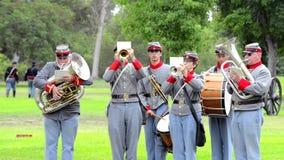 Banda della guerra civile video d archivio