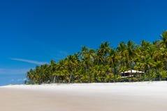Banda della spiaggia un giorno pieno di sole Immagini Stock Libere da Diritti