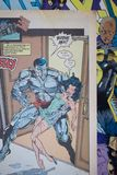 A banda desenhada de X-Men publicada pela banda desenhada da maravilha Imagem de Stock Royalty Free