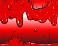 Banda desenhada - Slime Fotografia de Stock