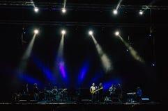 Banda di Sting di concerto immagine stock libera da diritti