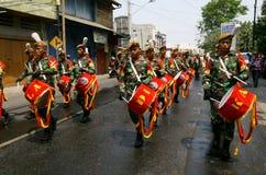 Banda do exército Imagem de Stock