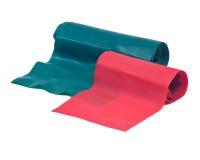 Banda elastica di allenamento di forma fisica Fotografia Stock