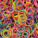 Banda elastica variopinta Immagine Stock