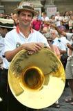 Banda en Italia Foto de archivo libre de regalías