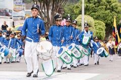 Banda escolar da percussão Imagens de Stock Royalty Free
