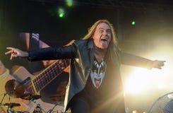 Banda Helloween - Andi Deris Stock Images