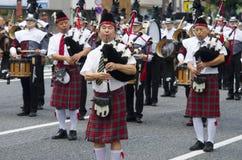 Banda japonesa de la gaita