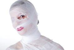 bandaż kobieta Zdjęcie Stock