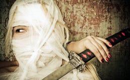 bandaż kobieta Obrazy Stock