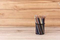 banda kolorowe ołówki Zdjęcie Royalty Free