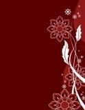 Banda laterale del fiore Immagine Stock