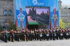 Banda militar Imagen de archivo