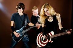 Banda rock Fotografia Stock Libera da Diritti