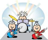 Banda rock Fotografie Stock Libere da Diritti