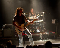 Banda rock americana Jason paese/della roccia & la bruciatura Immagini Stock