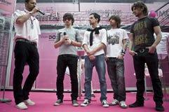 Banda rock di Finley in Levico Fotografia Stock