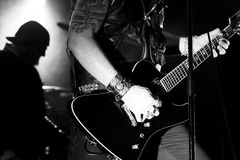 Banda rock gotica - i 69 occhi Immagine Stock