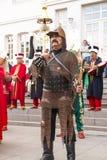 Banda tradizionale dell'esercito dell'ottomano Immagine Stock Libera da Diritti