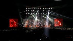 banda Un-ha di concerto Immagine Stock