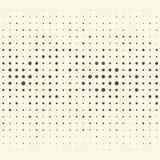 Banda verticale e Dot Pattern senza cuciture Parte posteriore di monocromio di vettore Fotografia Stock Libera da Diritti