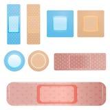 Bandaage icons Stock Photos