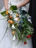 Bandada de la novia foto de archivo libre de regalías