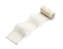 Bandage. Close up of bandage on white background with clipping path Royalty Free Stock Photos