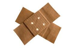 Bandage adhésif avec le chemin Image stock