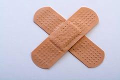 Bandage cross Stock Photo