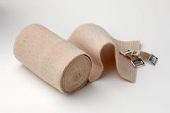 Bandage déroulé d'as Images libres de droits