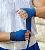 Bandage de boxe Photos libres de droits