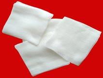 Bandage de coton Images stock