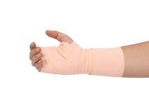 Bandage hand Royalty Free Stock Image