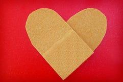 Bandage heart Royalty Free Stock Photos