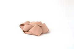 Bandage. A bandage isolated on a white background stock images