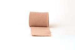 Bandage. A bandage isolated on a white background stock photography